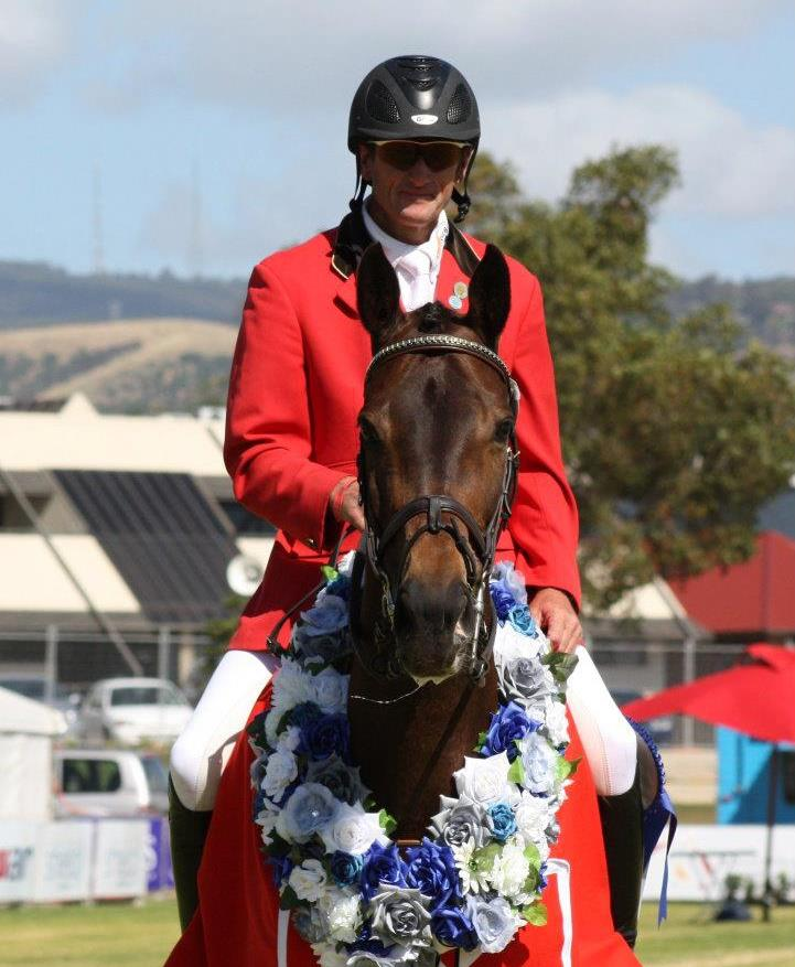 Stuart Tinney OAM ( Gold medalist) and the team at Tinney Eventing.