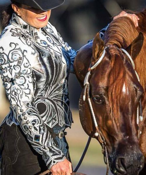 Kate Elliot of Breakoday Quaterhorses